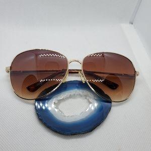 Ann Taylor Loft Gold & Tortoiseshell Sunglasses